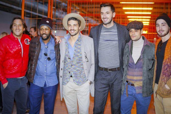 Street Style & Front Row Missoni Menswear F/W 2017 Milan 2