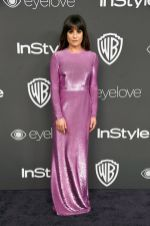 Lea Michele Golden Globes 2017 Instyle Warner Bros After Party