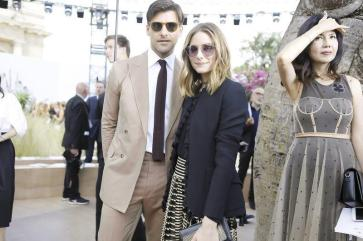 Olivia Palermo Front Row at Dior - Paris Couture Week F:W17