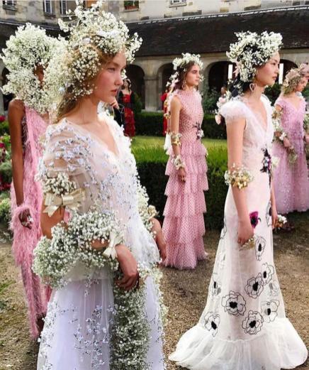 Rodarte Couture Spring Summer 2018 - Paris Haute Couture Week