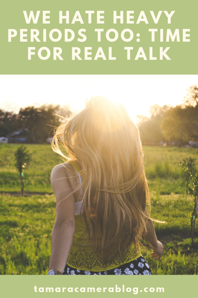 Let's talk: heavy periods. Abnormal uterine bleeding is a common condition many women aren't aware of or don't know they can treat. #ad #WeHateHeavyPeriods