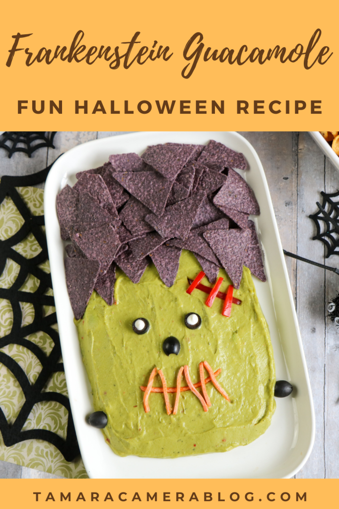 Delight your loved ones this Halloween season! Halloween 2020 is different for sure, so make this Frankenstein Guacamole Platter to celebrate