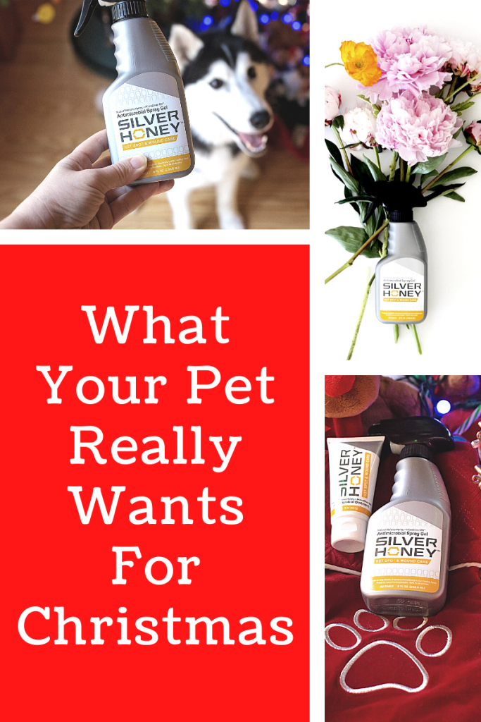 #AD What does your pet really want for Christmas in their stocking? Relief! And Silver Honey from @absorbine_pet is a must have pet gift. #silverhoneyrelief