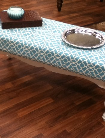 Coffee Table Ottoman DIY