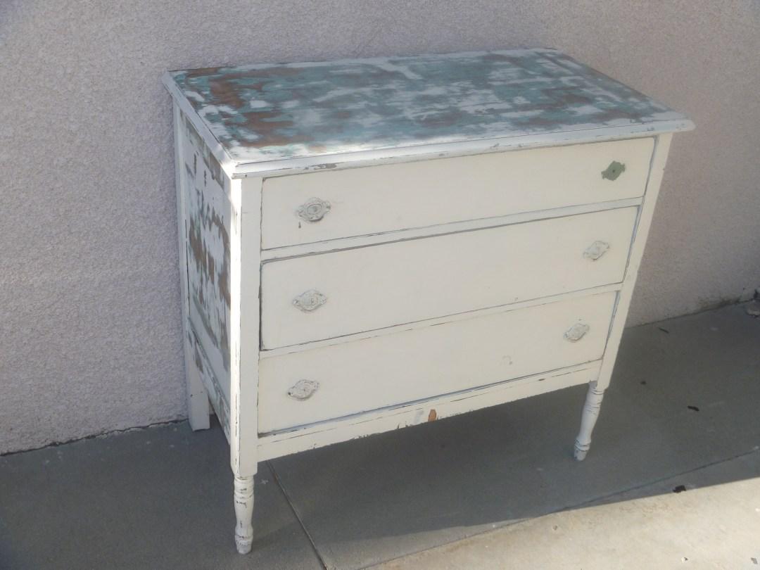 Shabby dresser, before