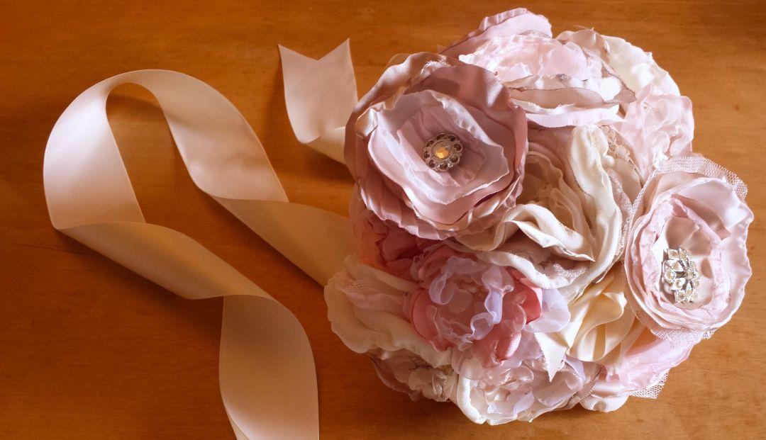 Fabric Floral Bouquet