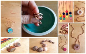 Penny Jewelry Collage
