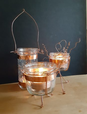 Whimsical Wire Lanterns, Tamara Central