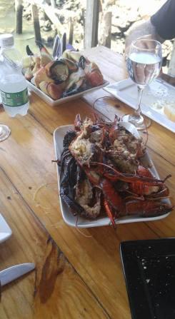 Awesome fresh seafood.