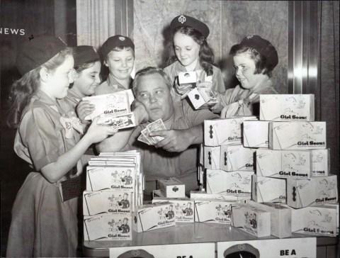 GirlScoutCookies-Bob-Pritchard-SunTimes-1960