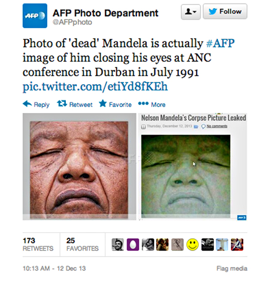 Mandela-fake