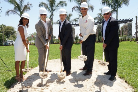 Central Parc Gold Shovel Ground Breaking 2