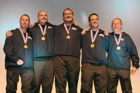 From Left to Right: Ron Hill, Scott Levy, Al Levy, Lucas King, Scott Latinis - Photo by Ori Kuper.