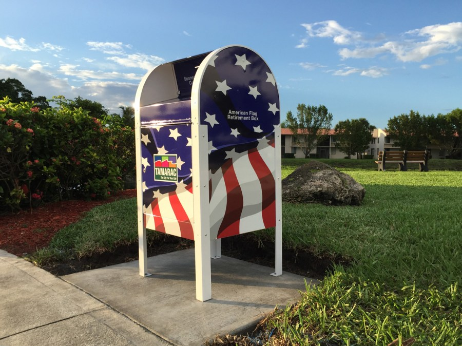 New Flagbox in Tamarac