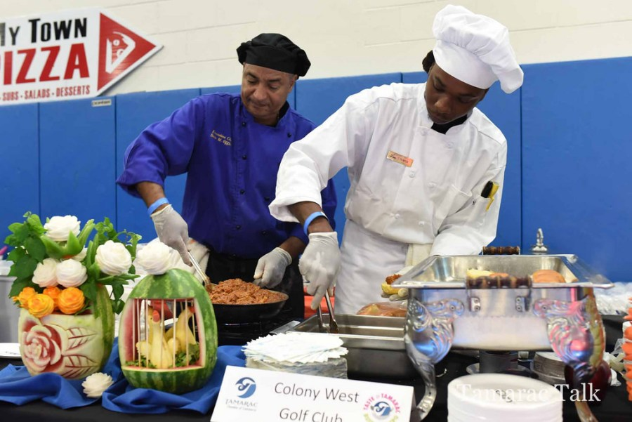 Chefs from the Colony West Country Club from last year's Taste of Tamarac