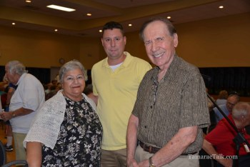 Kings Point resident Terry Andretta, along with District three resident Ellery Queen and Kings Point President Len Ronik
