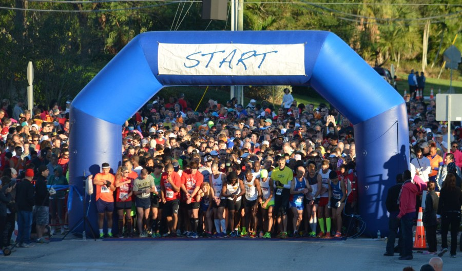 2014 Tamarac Turkey Trot. Photo Courtesy Active.com