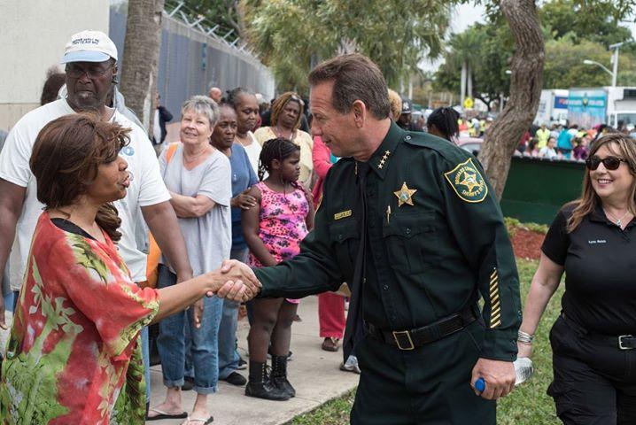 Sheriff Scott Israel in Dania Beach