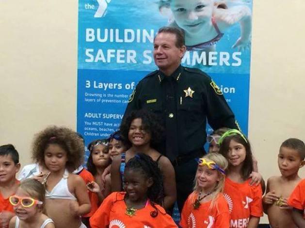 Broward Country Sheriff Scott Israel.