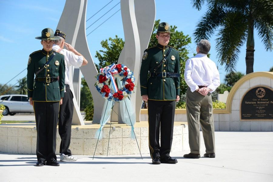 Tamarac Veterans Day - Photo by Tamarac Talk