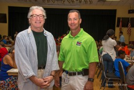 Tamarac Mayor Harry Dressler and Parks and Recreation Director Greg Warner.