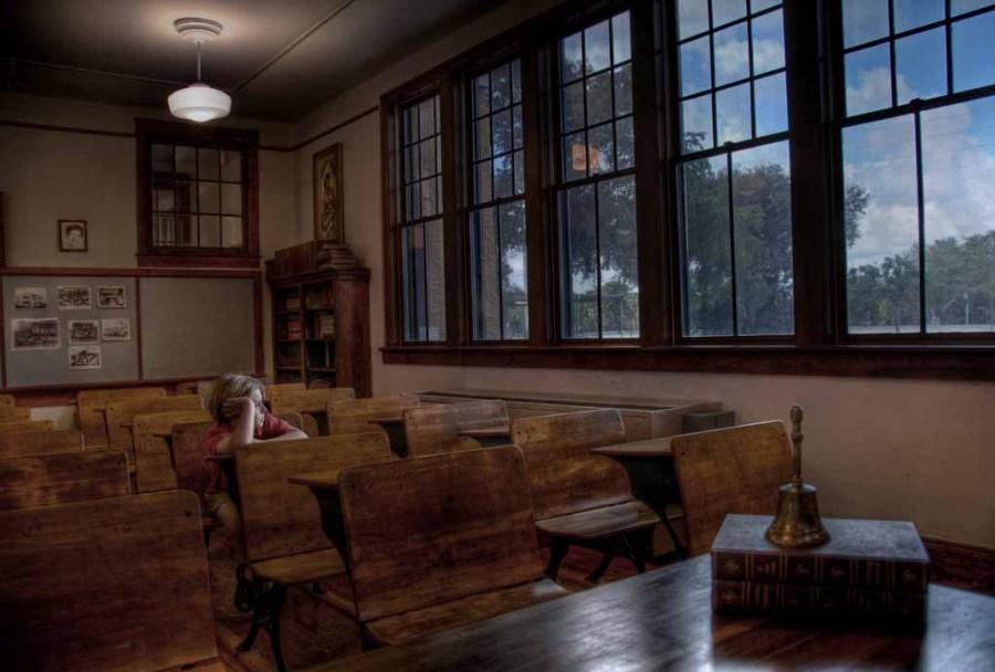 Old Davie Schoolhouse.  Photo by Adam Baron.