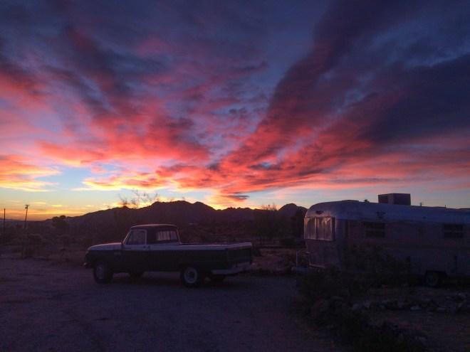 California, morning light