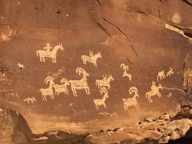 rock art, Utah, Moab, redrock
