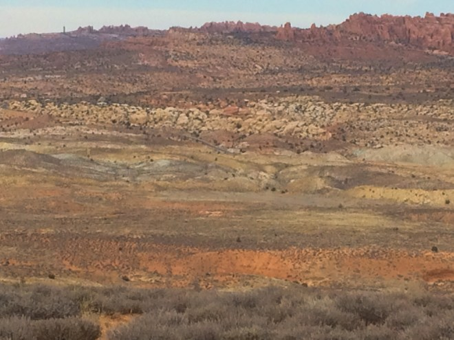 Utah, Moab, desert, rock