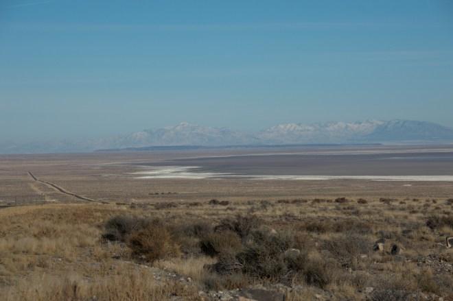 Sevier Lake, Utah, desert lake