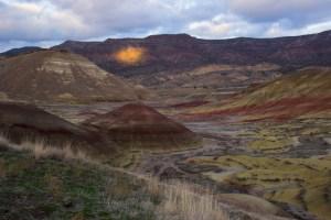 Oregon, central Oregon, John Day Fossil Beds, National Monument