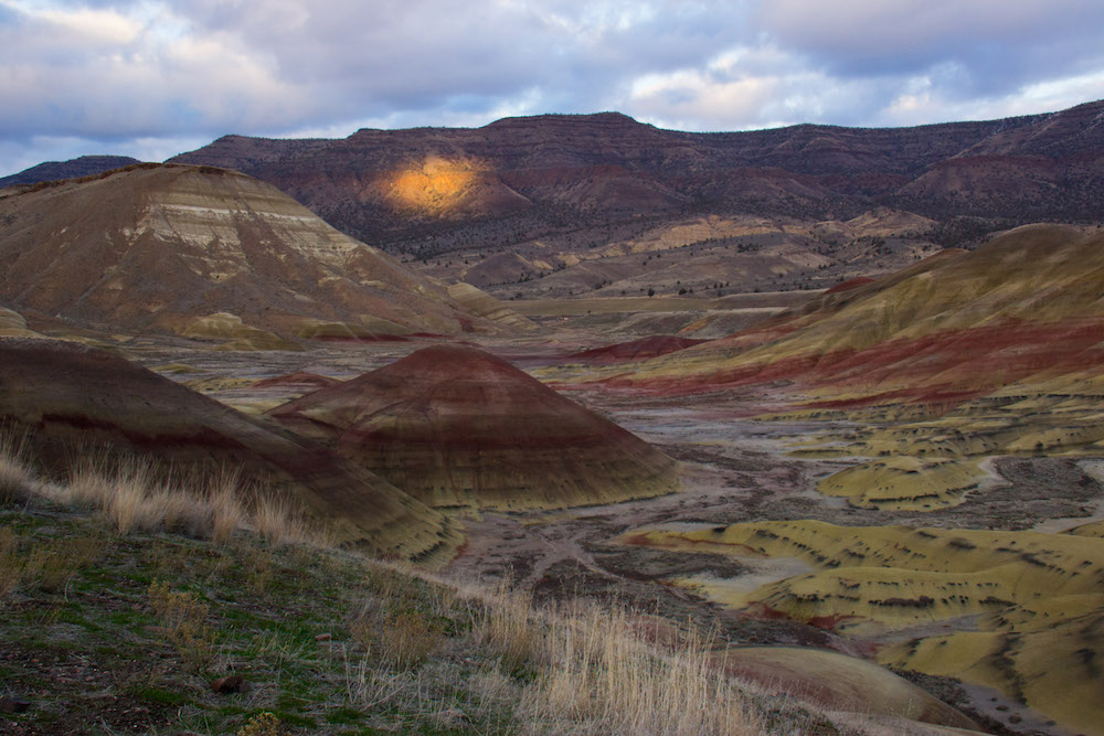 Oregon, central Oregon, John Day Fossil Beds, National Monument