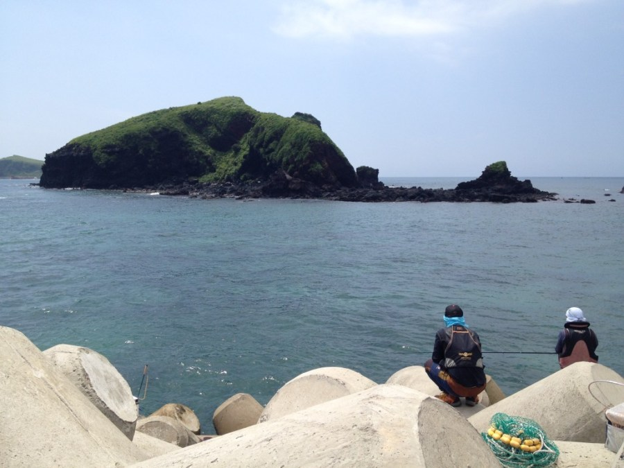 Islands off of Gosan, Jeju Island