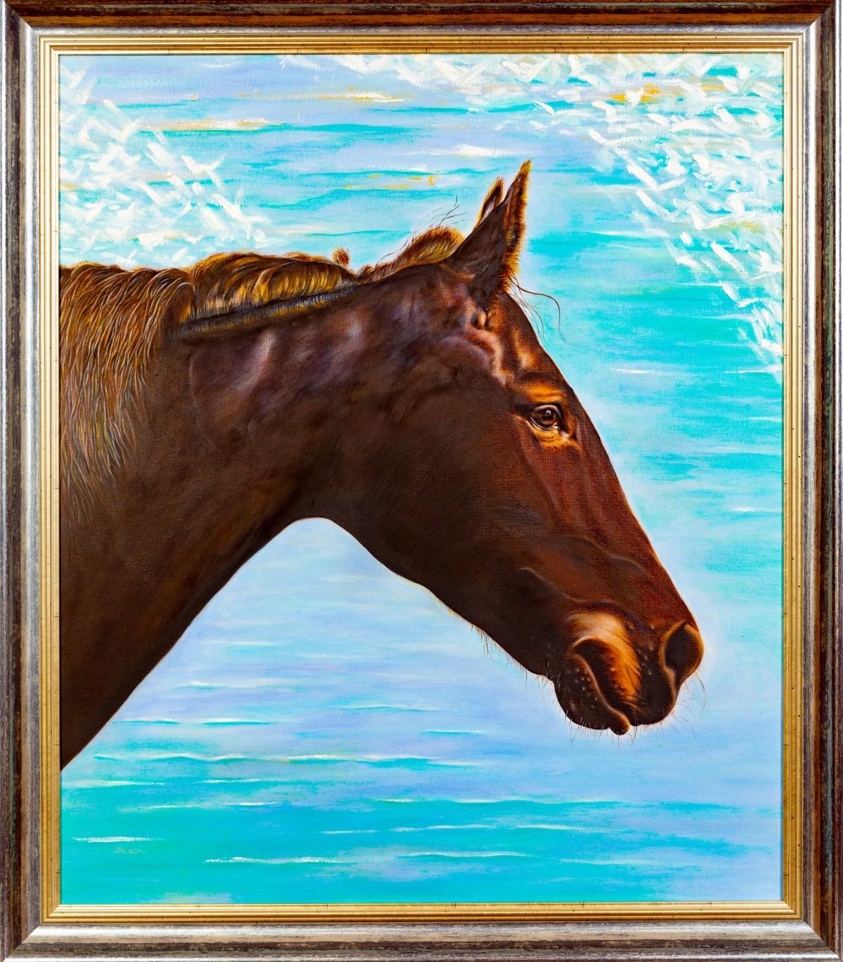 Horse, pt 2. Oil, 2016