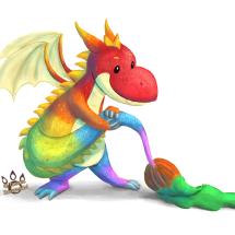 Painterly Dragon