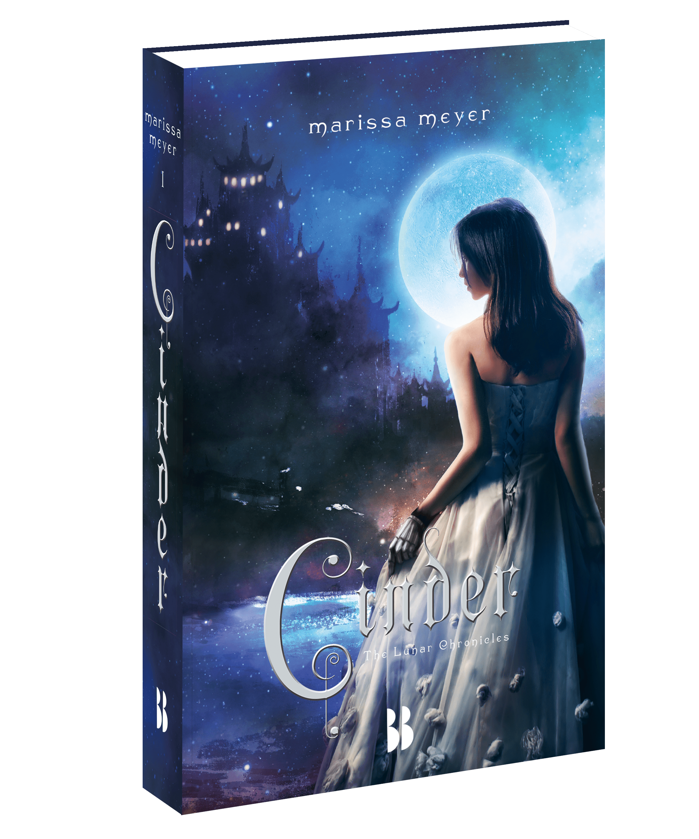 The Lunar Chronicles, Cinder, Marissa Meyer, bookcover, book cover, Blossom Books