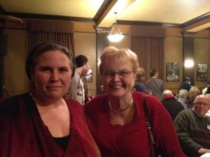Tamara with former Oregon Governor Barbara Roberts, 12/8/2013