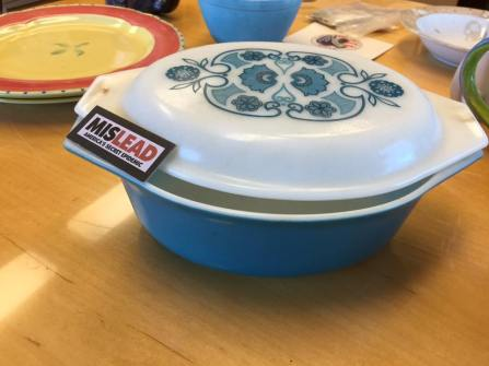 Vintage Blue Pyrex Casserole: Positive For 108,400 ppm Lead (& Arsenic Too!)