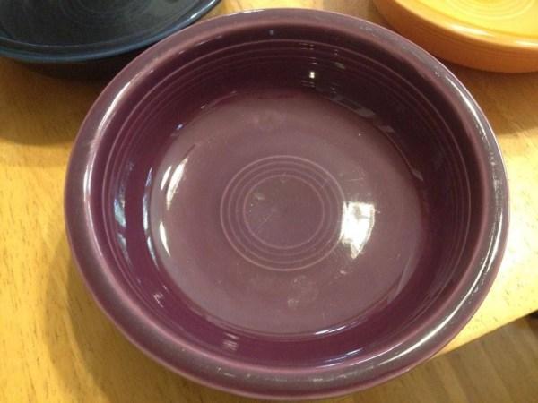 Newer Fiestaware Purple Bowl: 67 ppm Cadmium