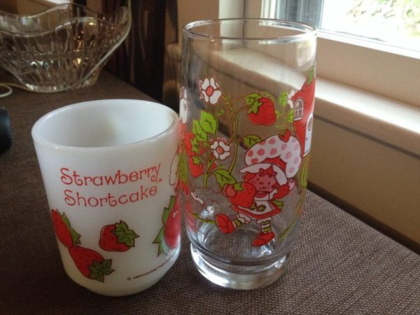 Vintage Strawberry Shortcake Glasses: 87,500 ppm Lead