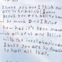 Avi's Mothers' Day Letter 2017