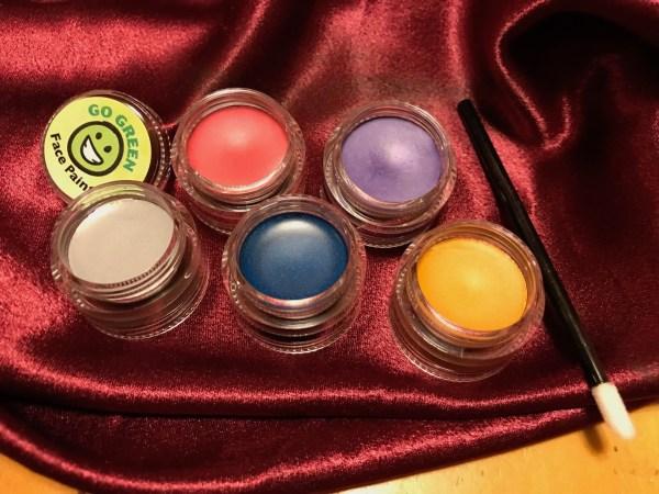 Go Green Organic Face Paint, Princess Perfect Halloween