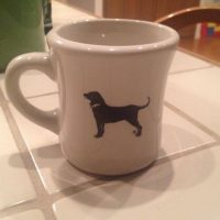 Black Dog Mug