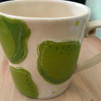 2006 1 Green Pear Starbucks Coffee Mug