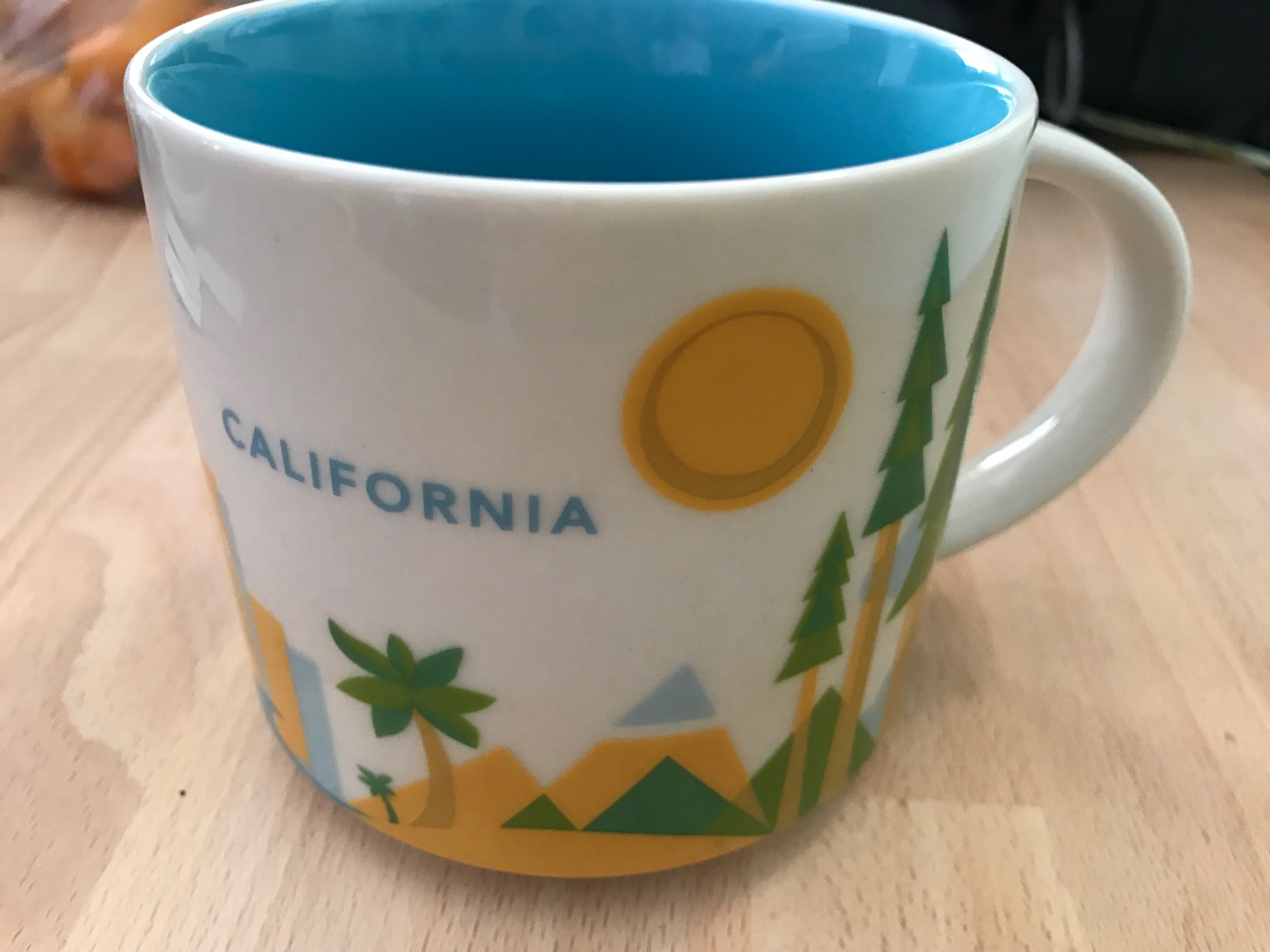 "Starbucks Coffee Company ""You Are Here"" Collection, 14 oz California Mug"