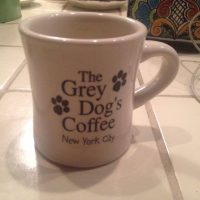 Grey Dog Coffee Mug