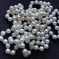 Light Faux Leaded Vintage Pearls Tamara Rubin Lead Safe Mama