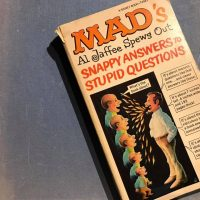 1968 Snappy Answers to Stupid Questions Mad Magazine Lead Safe Mama Tamara Rubin 1