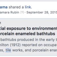 Bathtub hazards