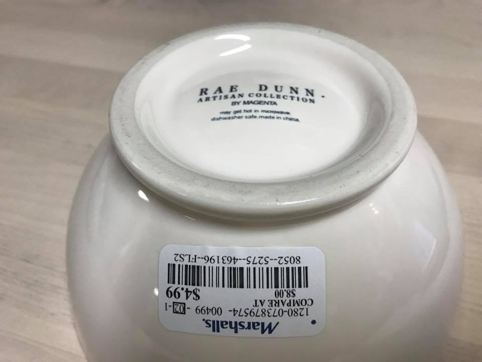 """Rae Dunn Artisan Collection By Magenta - """"Be Well"""" Bowl, Marshall's"""